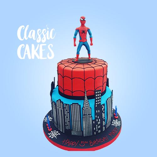 spiderman-city