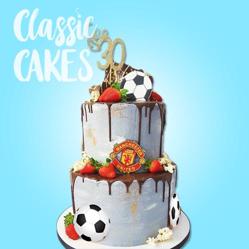 football-drip-cake